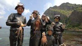 Yaponiyanın dəniz qadınları