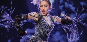 Dünya şöhrətli müğənni Madonna