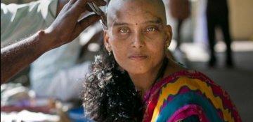 Hindistandan Afrikaya uzanan milyard dollarlıq saç bazarı FOTO/VIDEO